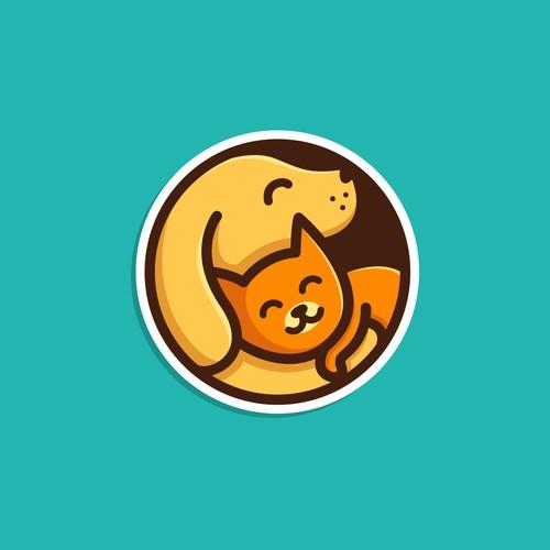 Dog & Cat Logo #1 (Unused Design)
