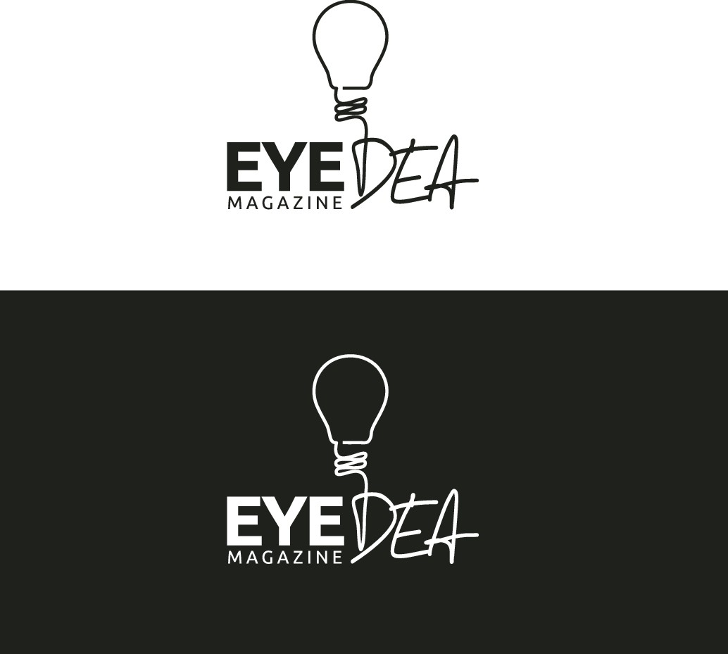 This logo is  for a upscale eyewear magazine. The magazine is called Eye-Dea .
