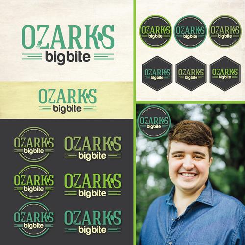Logo design for Ozarks big bite