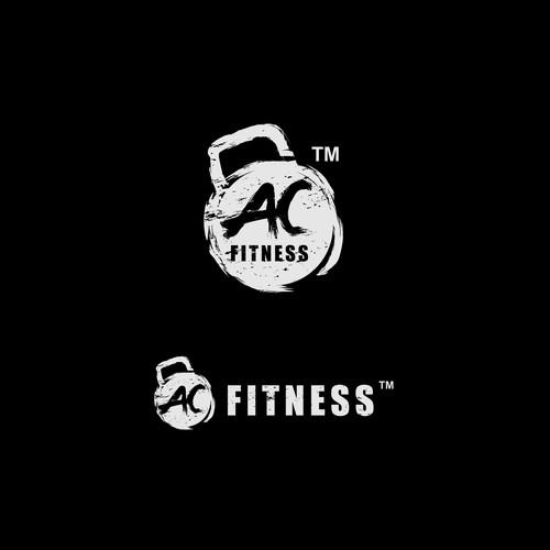 AC FITNESS logo design