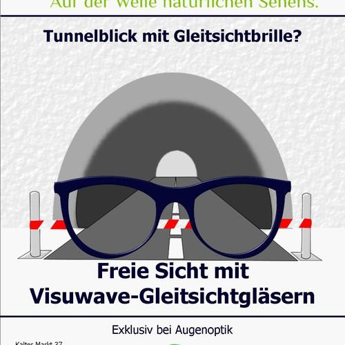 Augenoptik Leonhard need a newspaper ad for glasses