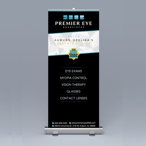 Banner design for Premier Eye
