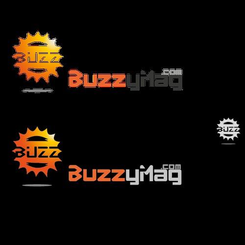 BuzzyMag.com -- logo design