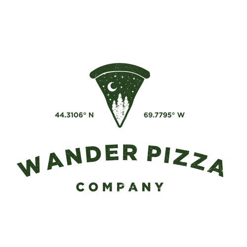 Logo Concept for Wander Pizza Company