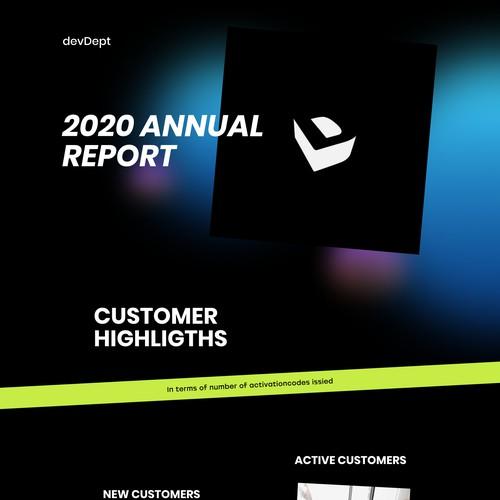 Annual Report for devDept