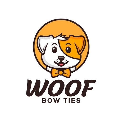 Woof bow ties