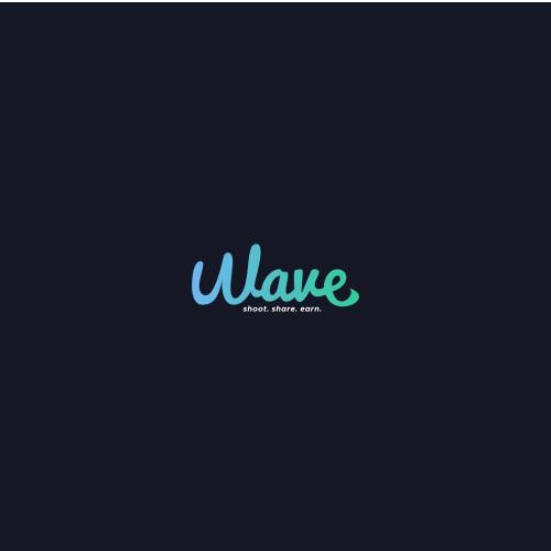 Wave social media video apps logo.