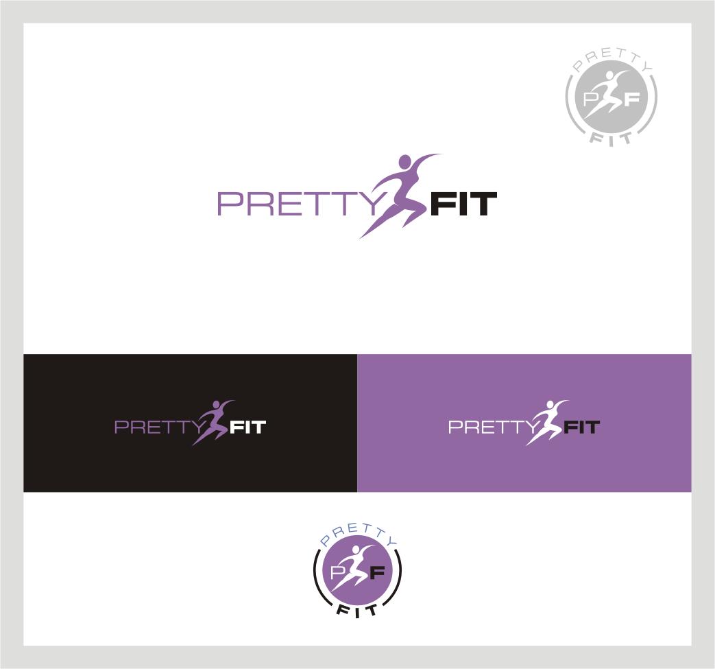 Create a fun, modern logo for a women's fitness company!