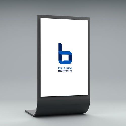 Blue Line (Mentoring platform logo)