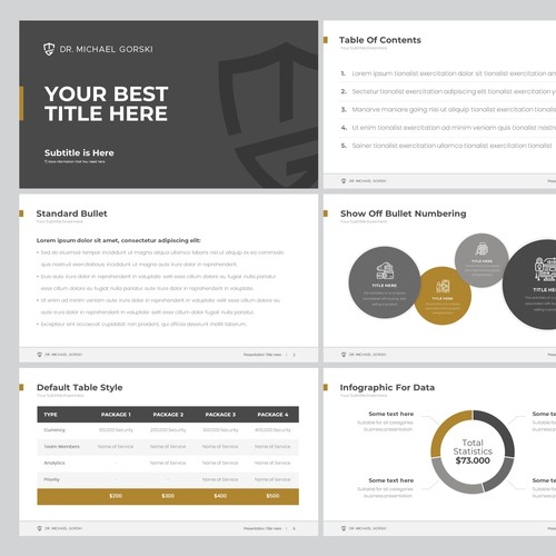 Internet Security PowerPoint Template