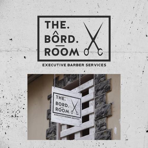 concept logo for barber shop