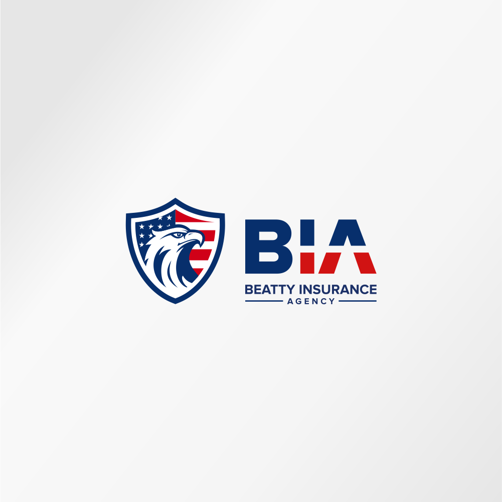 a patriotic logo for an insurance agency
