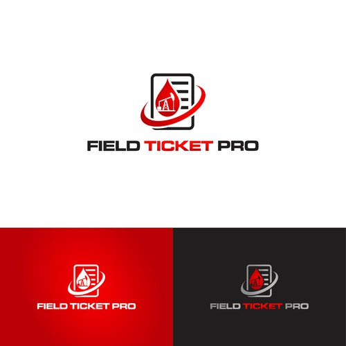 FIELD TICKET PRO LOGO DESIGN