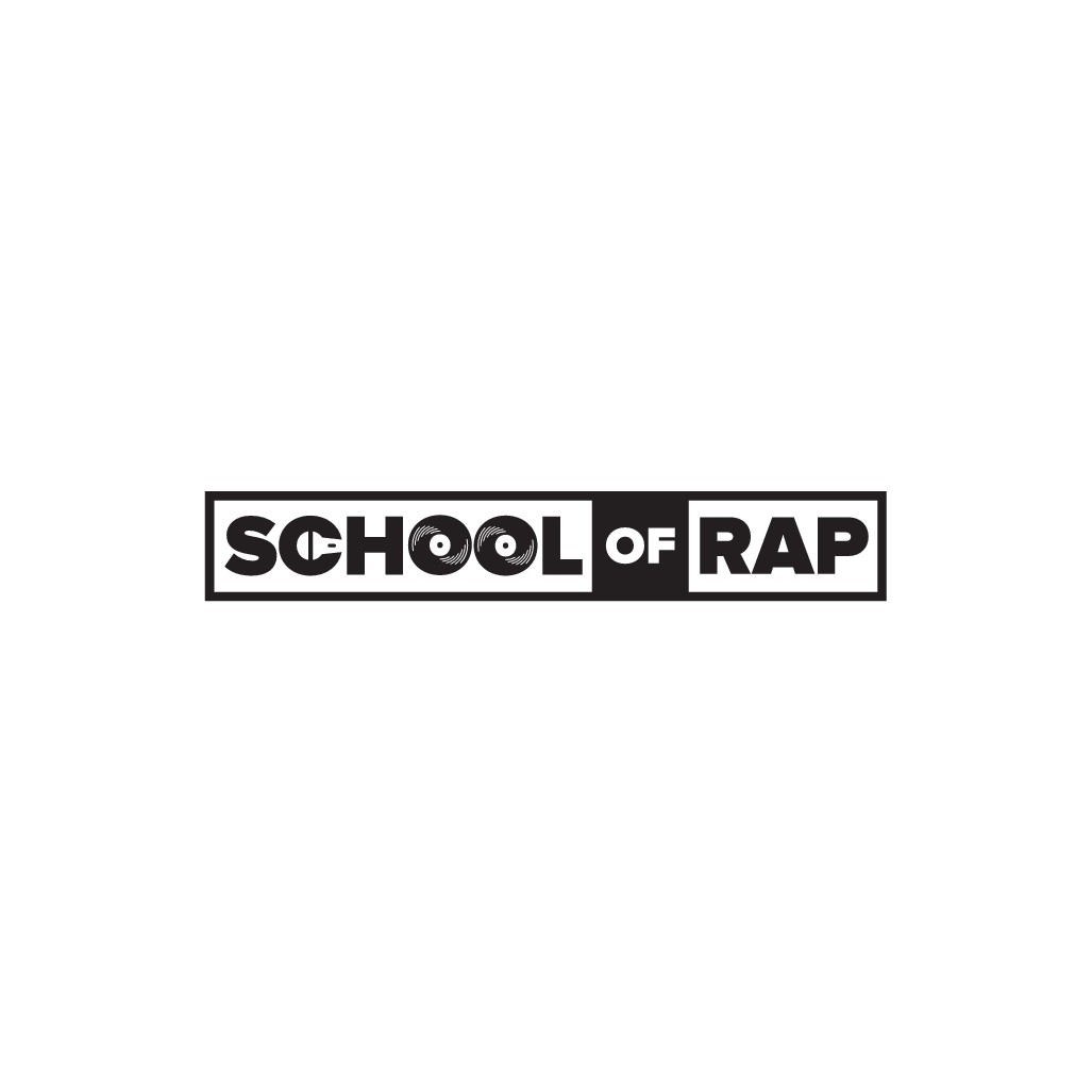 The School of Rap logo for new hip-hop/freestyle school