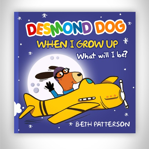 Book Cover Desmond Dog