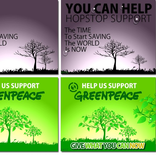 Banner Ads for Charitable Giving Campaign