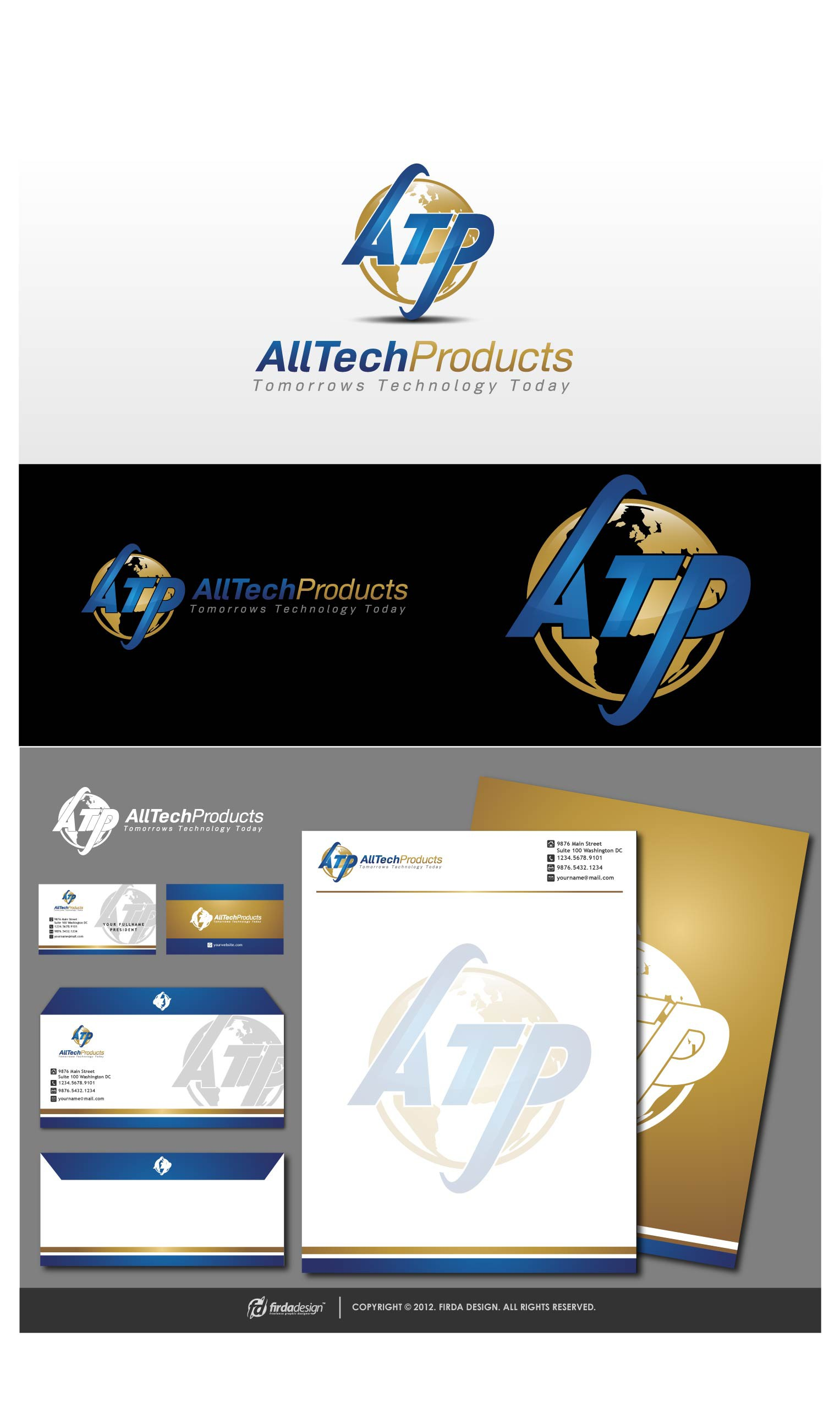 logo for ATP (All Tech Products)