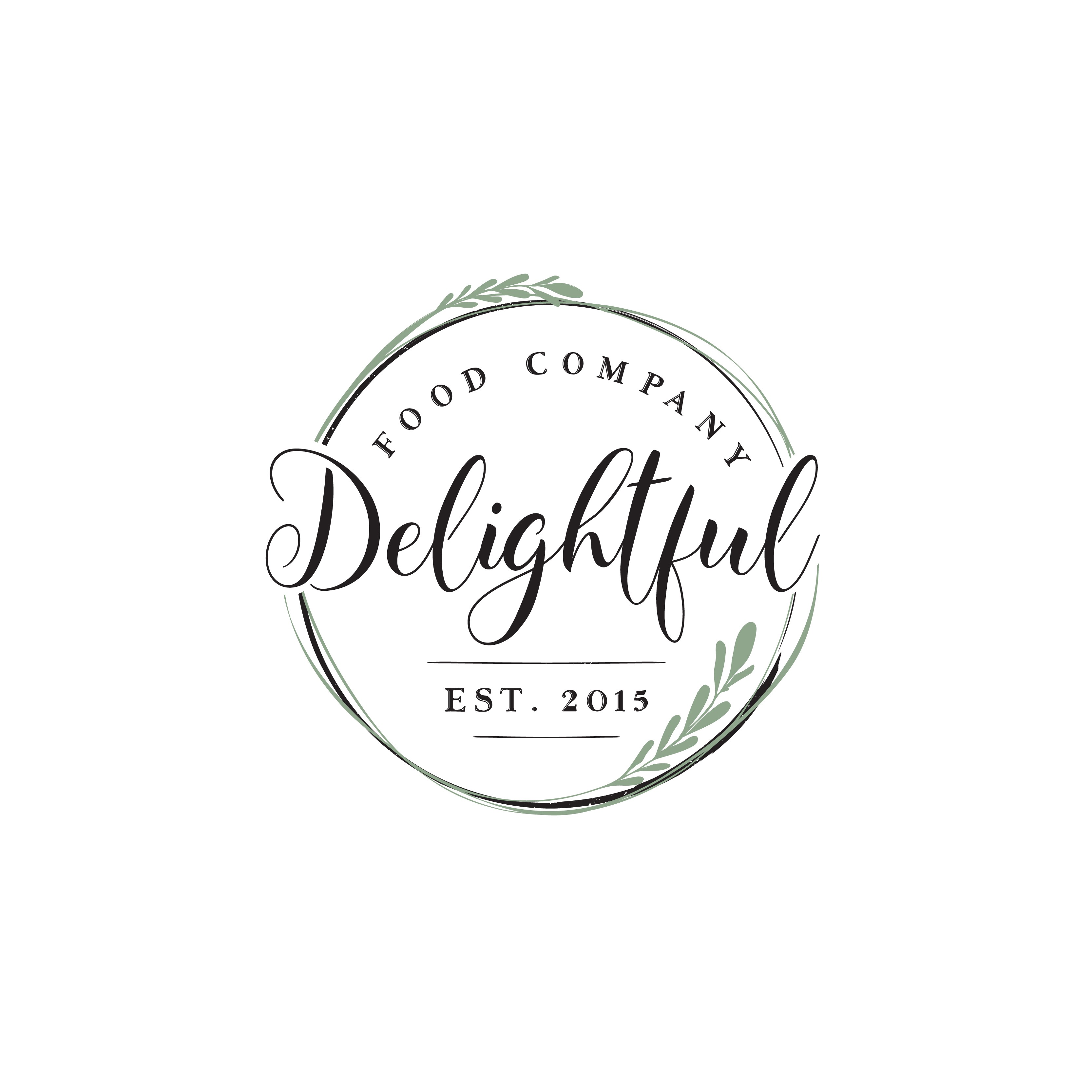 Create a cool logo for Delightful Food Company