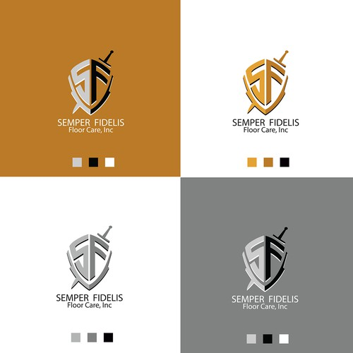 A logo for a cleaning company