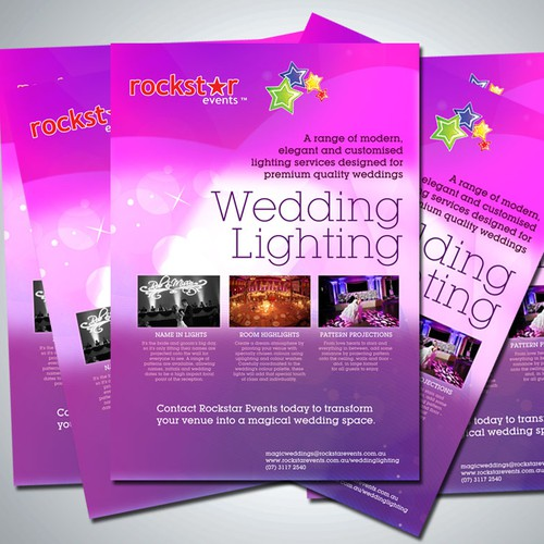 Wedding Lighting Brochure