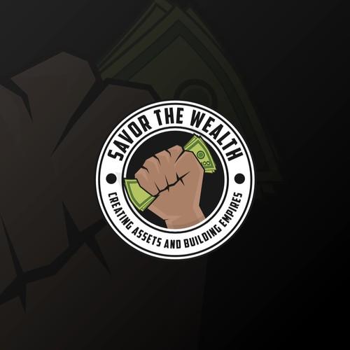 Emblem logo for podcast/youtube brand