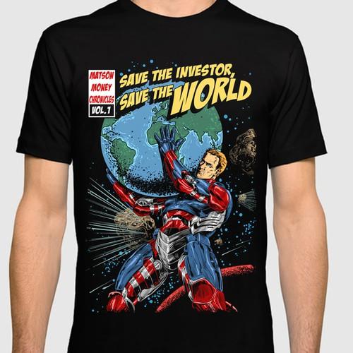 Comic style tshirt