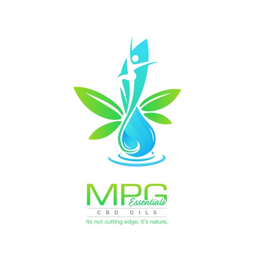 Bold logo concept for MPG Essentials: CBD Oils