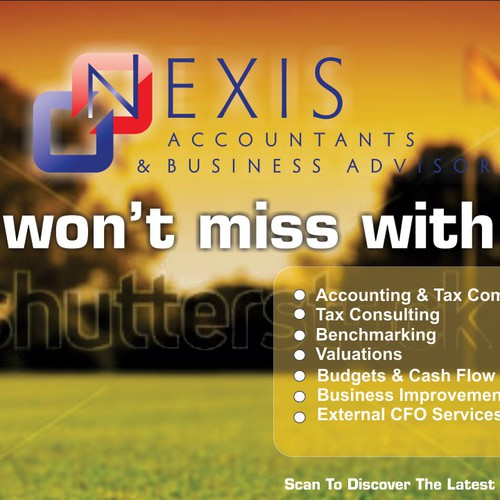 Help Nexis Accountants & Business Advisors with a new signage