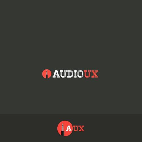 Logo for an audio production company