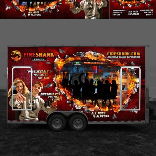 Fireshark Mobile Gaming Wrap