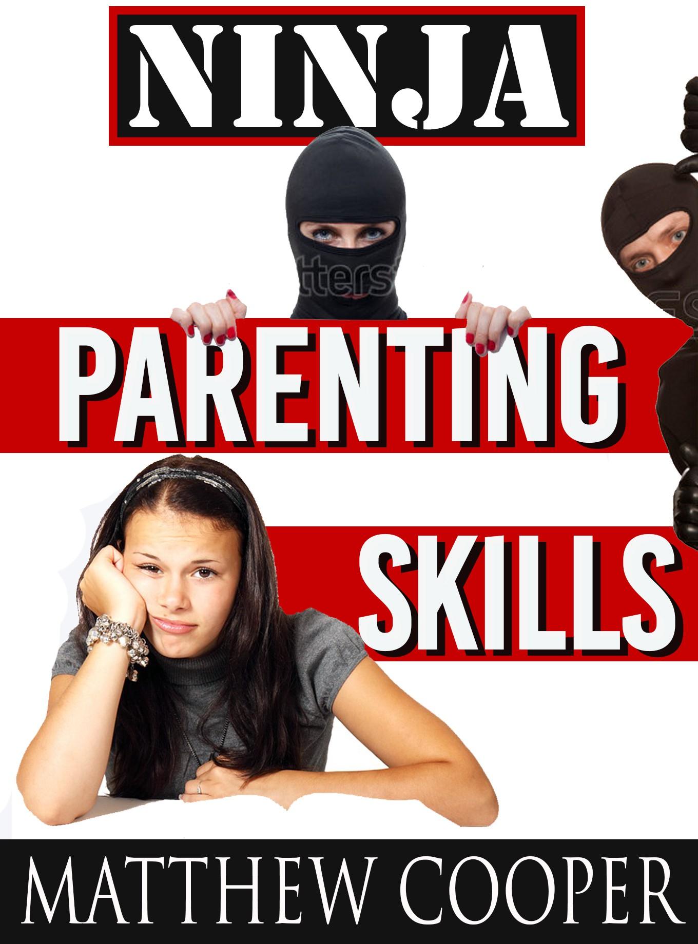 Book cover design for Ninja Parenting Skills