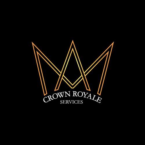Geometric Crown Logo