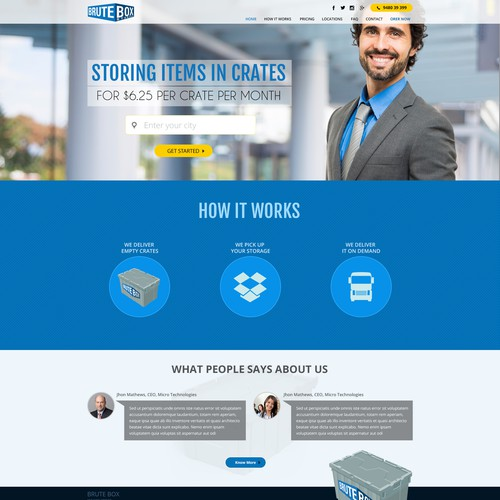 Brute Box Website