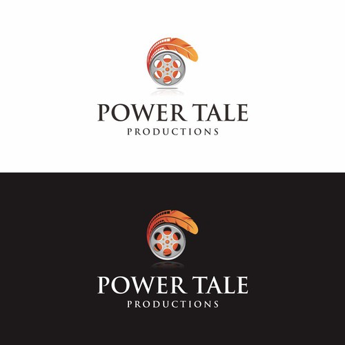 logo design for power tale productions