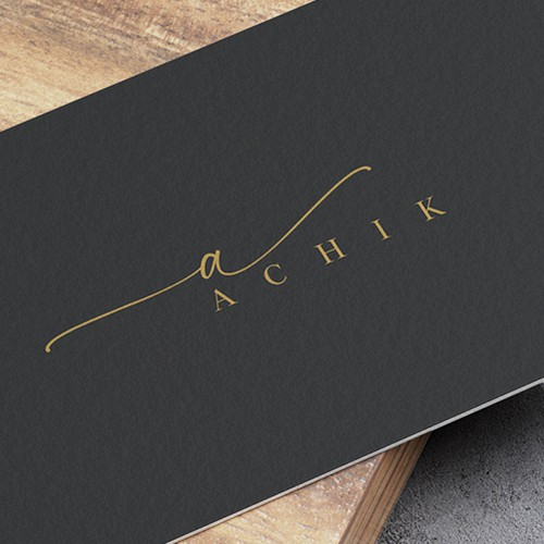 Flowy, simple and elegant logo design for a sunglasses brand