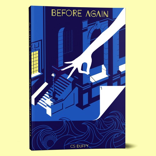 Urban book cover design about time travelling