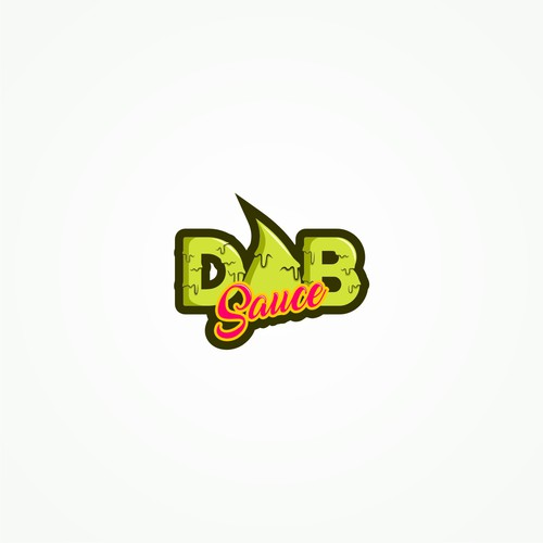 Logo concept for DAB Cannabis Sauce