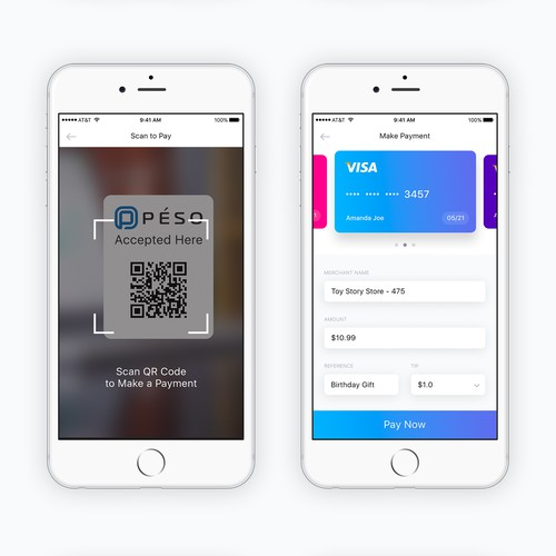 Peso Payment Mobile App