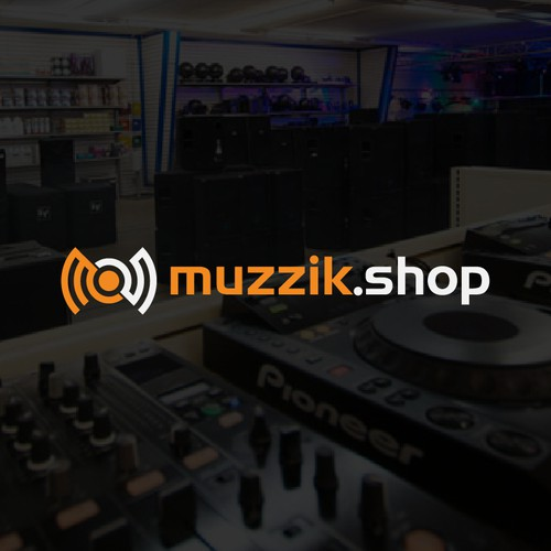 Logo for audio equipment on line store