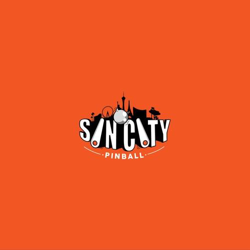 logo for sincity pinvball
