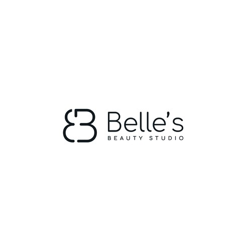 Modern logo for Belle's cosmetic tattoo business