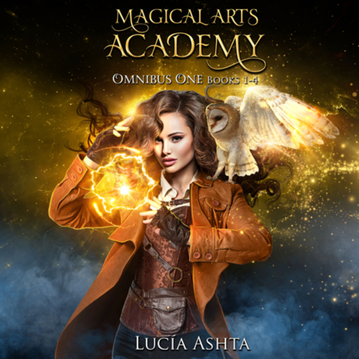 Magical Arts Academy omnibuses audiobook covers