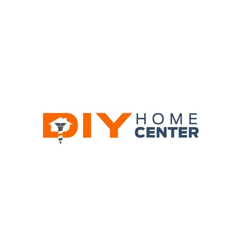 Logo for DIY Home Center's desktop and mobile site experience!