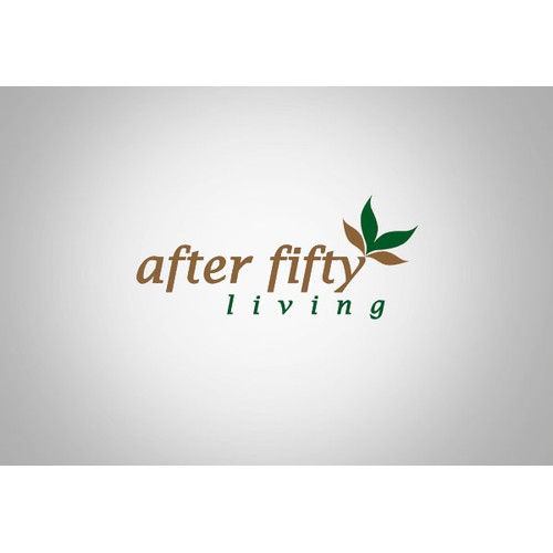 Help After Fifty Living with a new logo