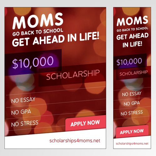 Display Ads for Scholarship Programm