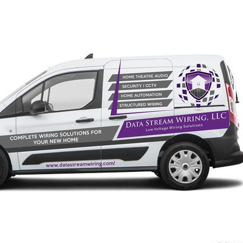 Van wrap for DTWL