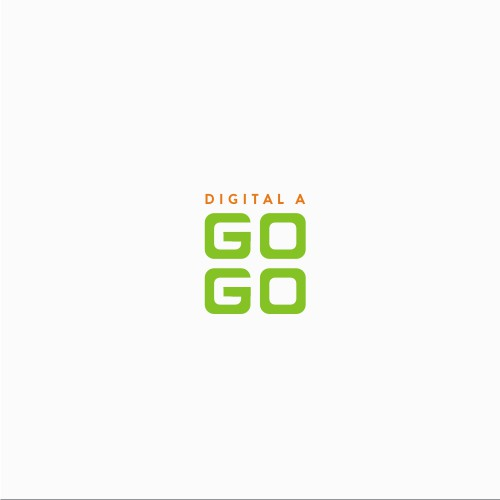 "Logo Design for ""Digital A Go Go"""