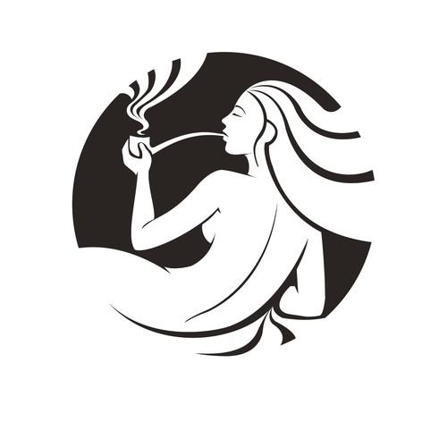 Re-design Forbidden Flower Cafe Logo