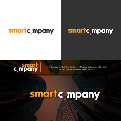 Minimalist Digital Media Logo Design