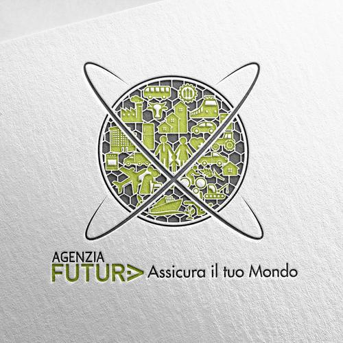 Custom website icon design for italian insurance company.